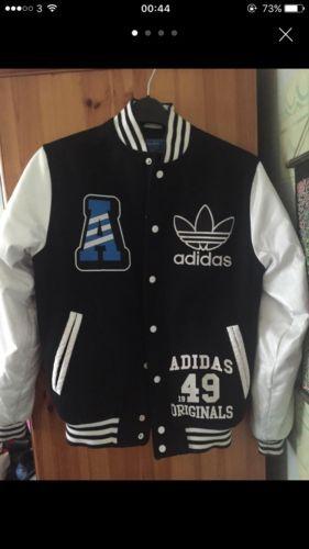 1949 Jackets Rare Originals Adidas JacketGefunden Varsity 9YHEDWeI2
