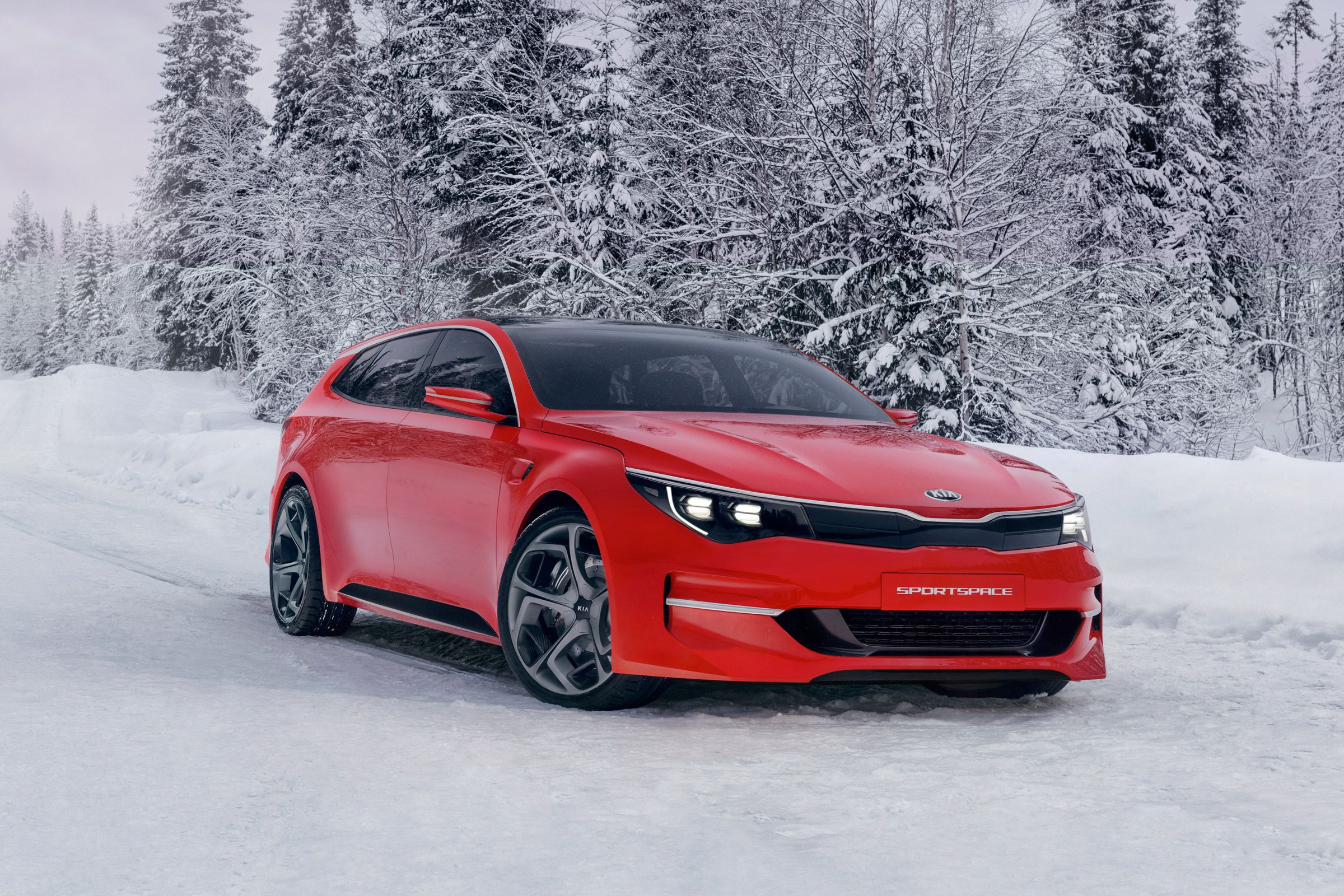 Kia's Newest Concept Car Is A Station Wagon Because Wagons