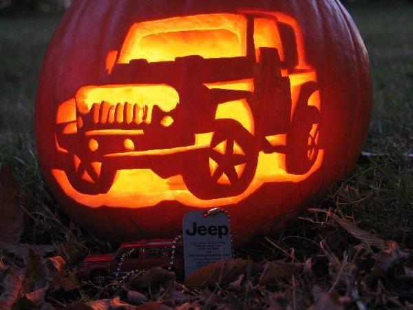 carve a jeep pumpkin this year halloween jeep jeep cars jeep rh pinterest com