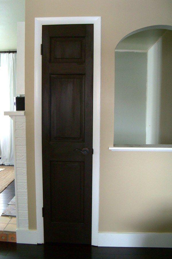 Dark Brown Doors Yup I M Doing This Black Interior Doors Doors Interior Interior Door Colors