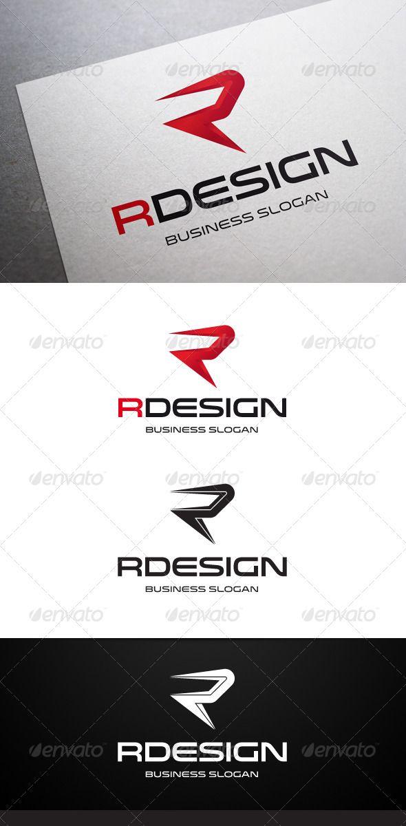 Rdesign R Letter Logo Design Template