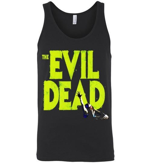 Evil Dead Army Of Darkness Horror Zombies Movie v1, Canvas Unisex Tank