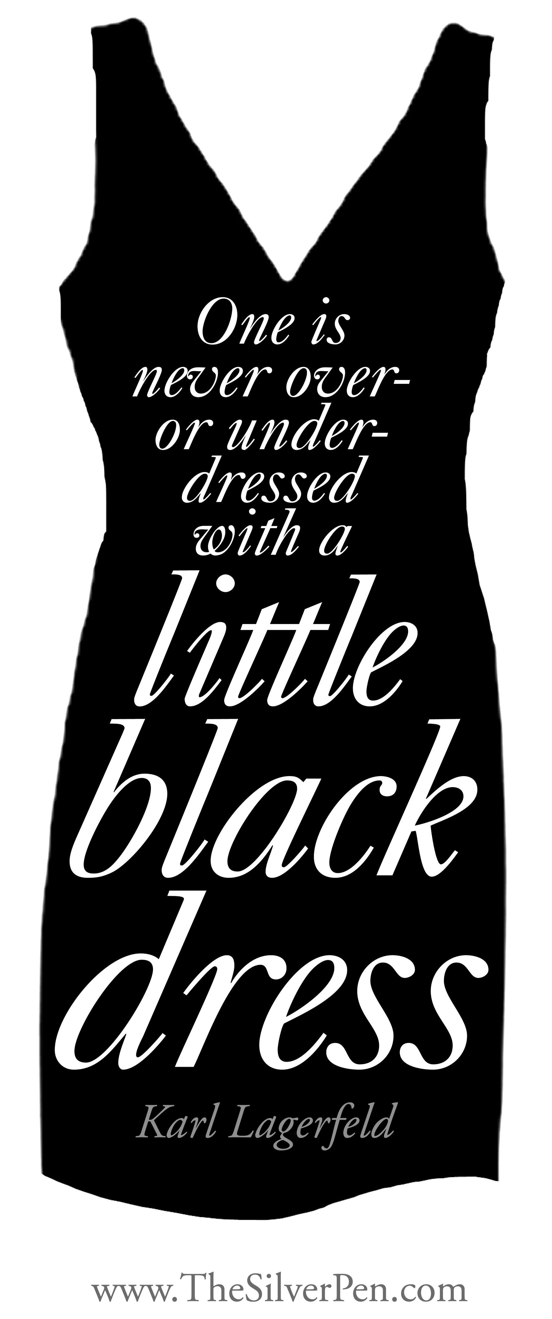 Black dress up quotes - Black