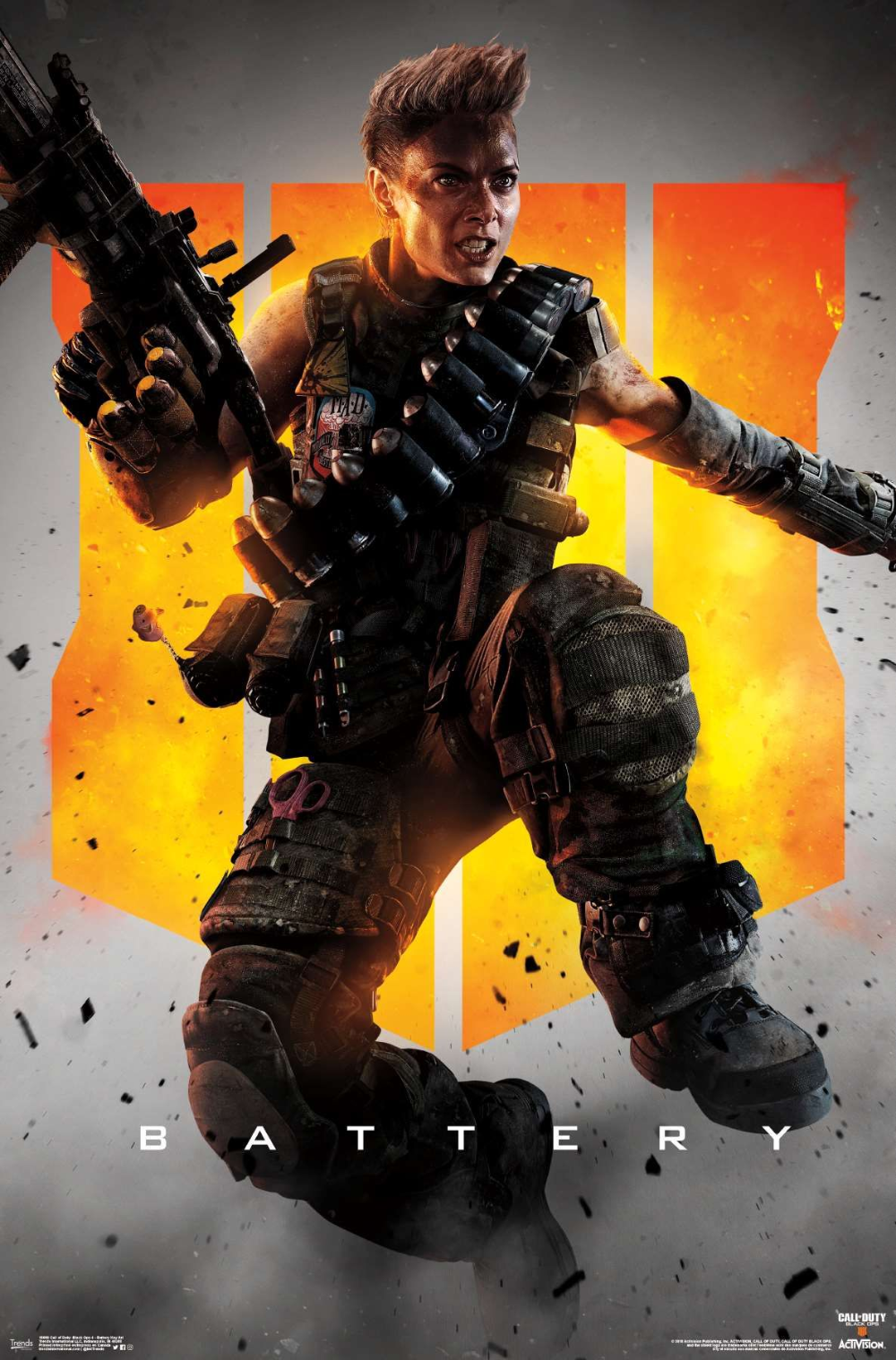 Call Of Duty Black Ops 4 Battery Key Art Call Of Duty Black Call Of Duty Black Ops