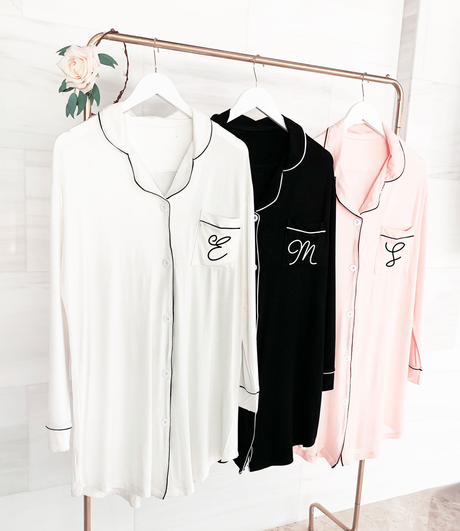 e3ee945ec9 Check out the deal on Monogram Sleep Shirt at Wedding Favorites ...