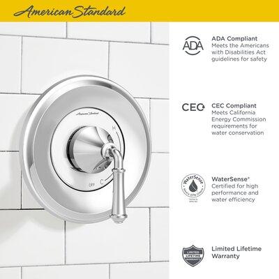 American Standard Delancey Temperature Control Shower Faucet