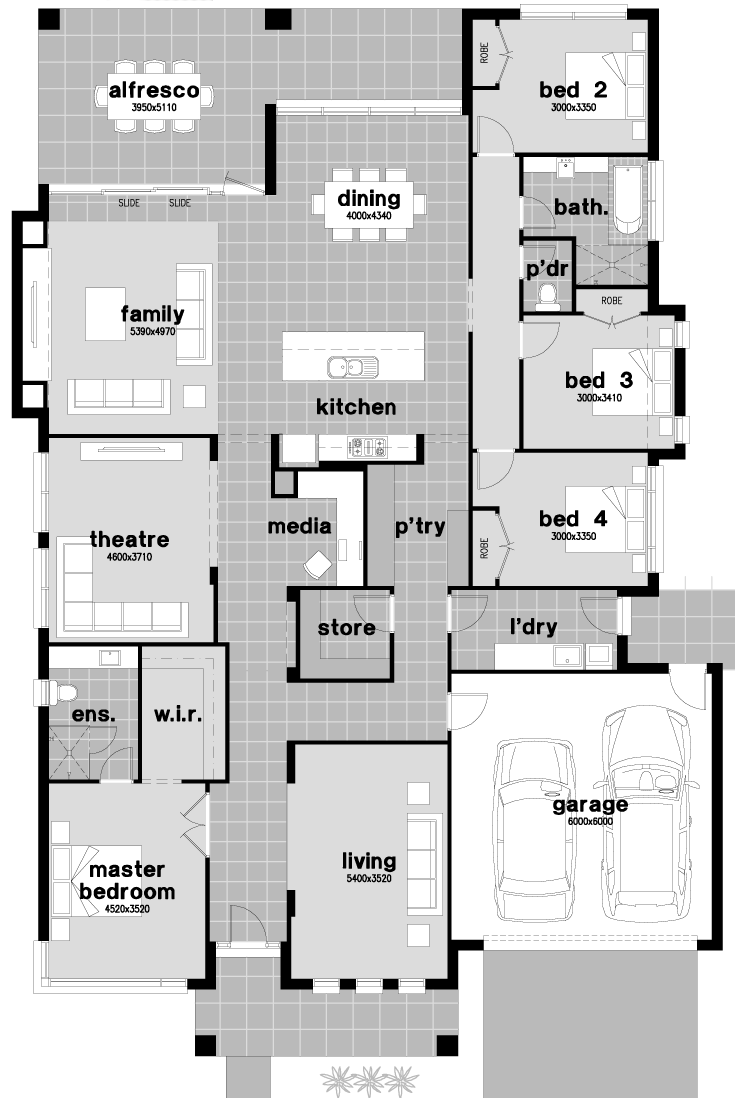 house plan walk in pantry home design and style