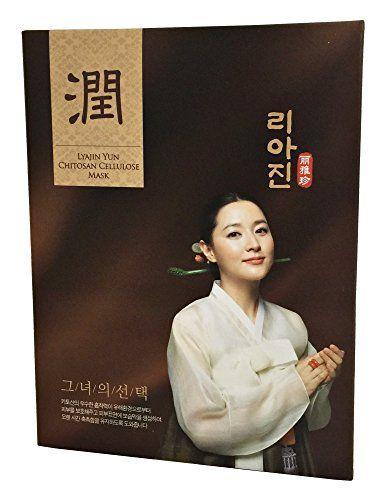 Lyajin Yun Chitosan Cellulose Masks Lee Young Ae Korean F...