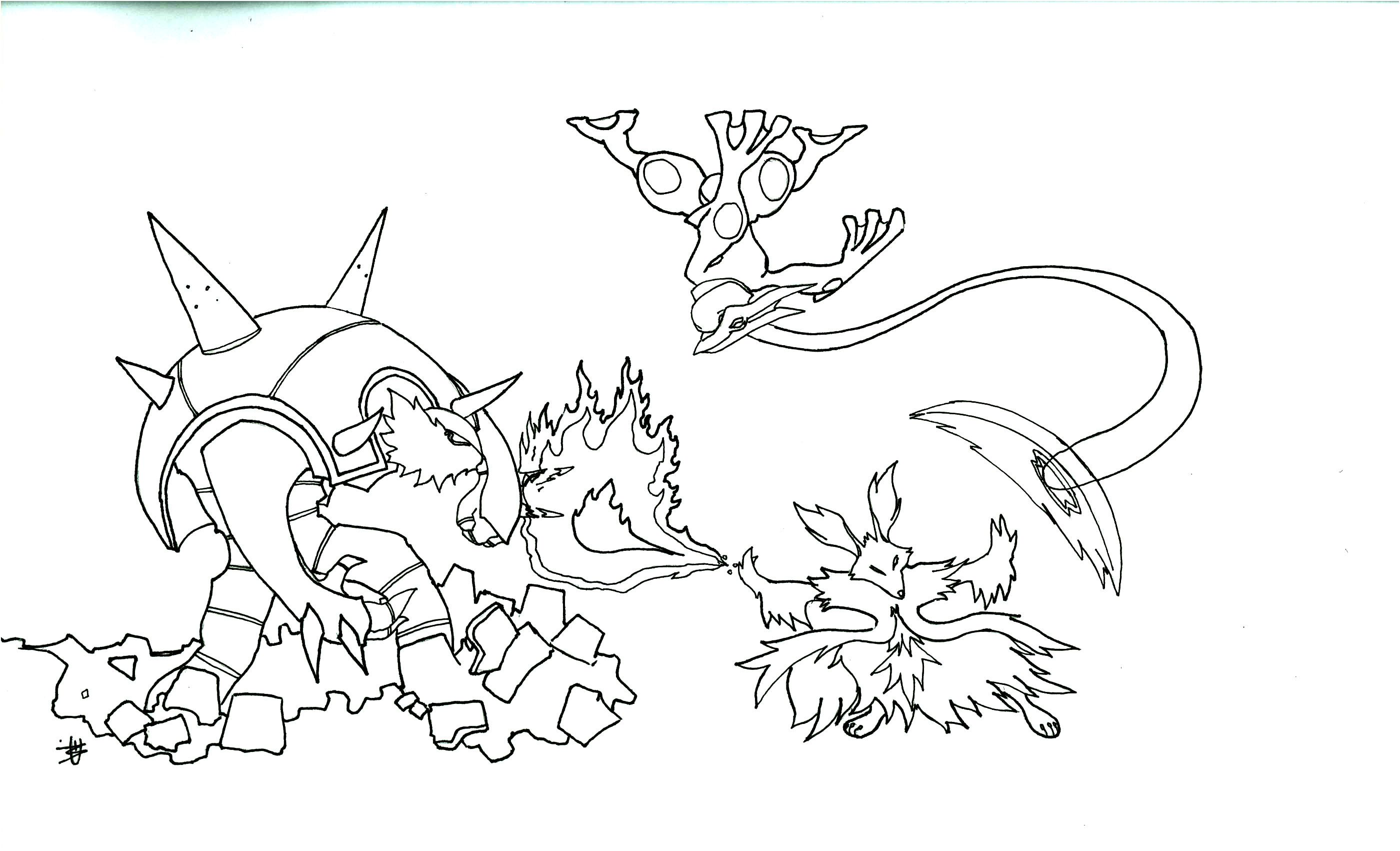 Coloriage Pokemon Mega Evolution 9 Nouveau Coloriage Pokemon