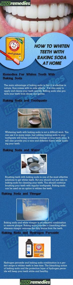Hoe om tanden witter met zuiveringszout At Home
