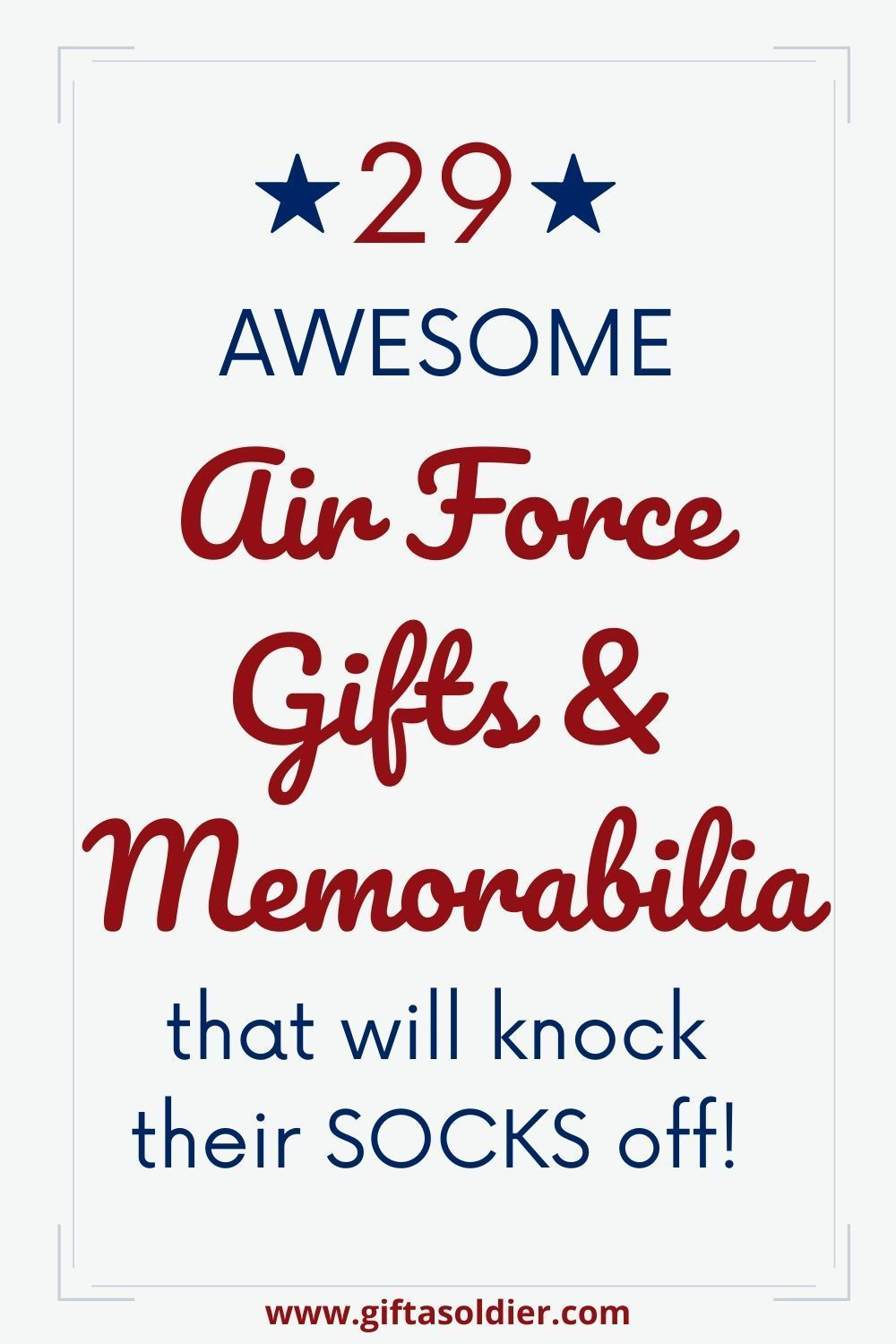 Getting the right air force gifts and memorabilia are