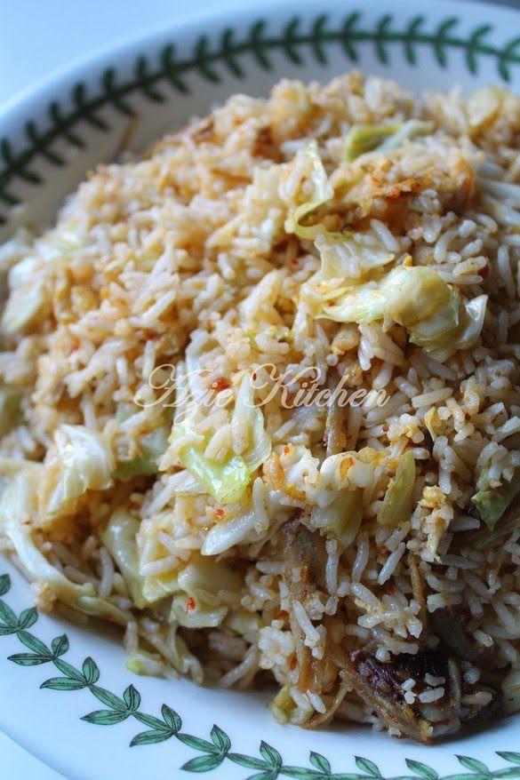 Azie Kitchen Nasi Goreng Ikan Bilis Yang Mudah Tapi Sedap