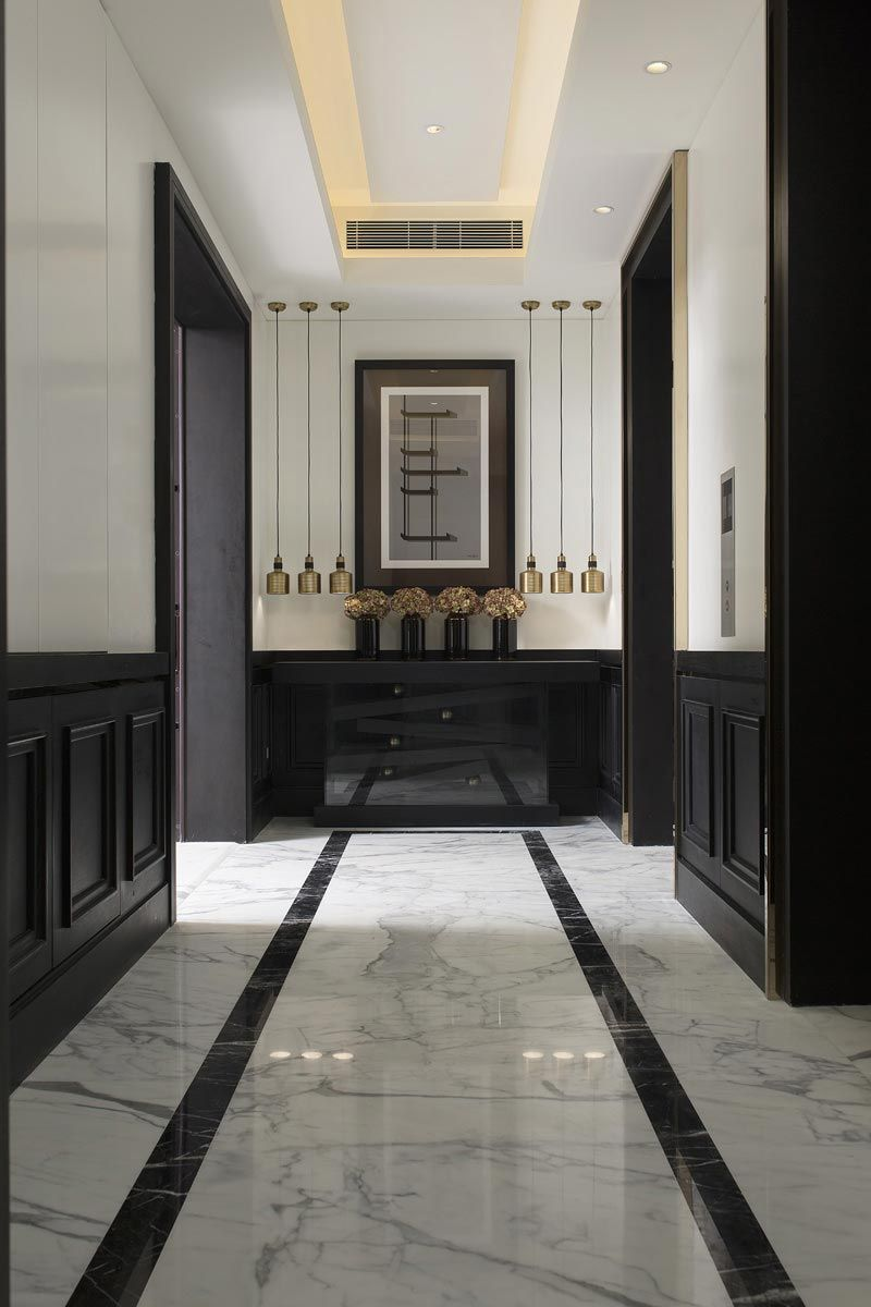 Master bedroom hallway  CroAsian  A app  Pinterest  Asian Corridor and Interiors