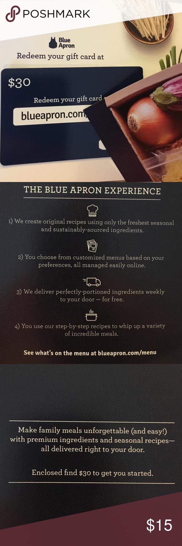 Blue apron offer - Offer Me White House Black Market Bag Blue Apronmarket