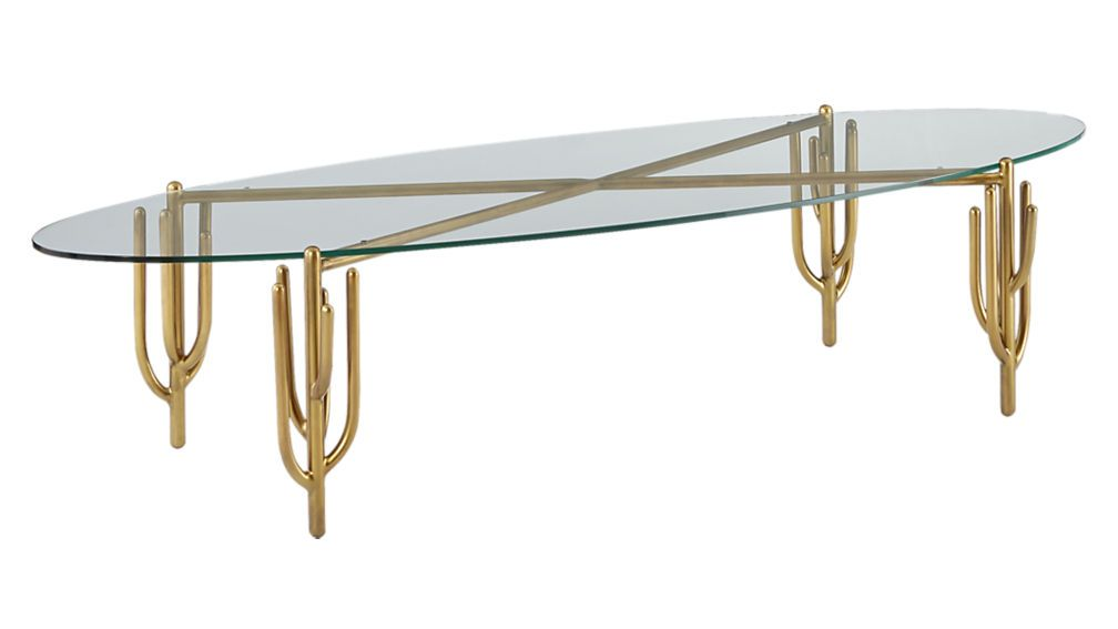 Cacti Brass Coffee Table Sold Out Brass Coffee Table Cool