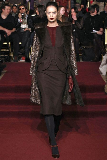 FALL 2013 READY-TO-WEAR  Zac Posen