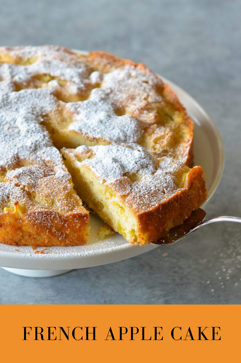 French Apple Cake  Viral food is part of Cake recipes -