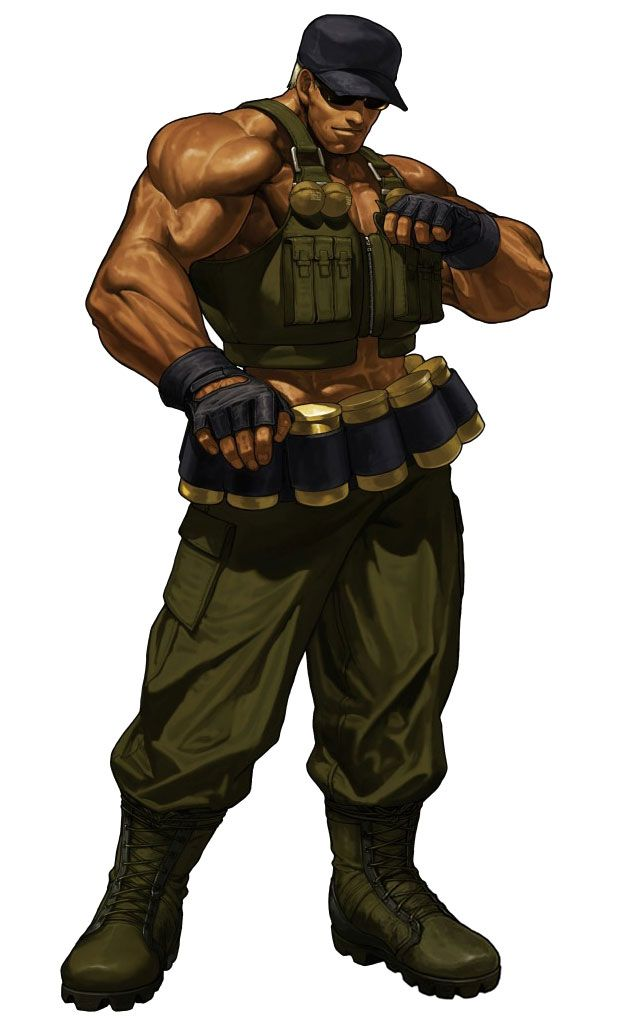 Clark still pictures characters art king of fighters xiii king of fighters character art - King of fighters characters pictures ...