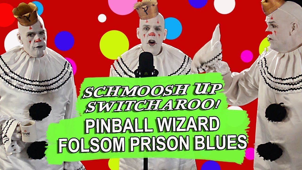 PUDDLES THE CLOWN - Pinball Wizard - Channeling Johnny Cash ...