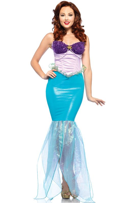 Leg Avenue Disney Ariel Adult Costume from Disneyu0027s Little Mermaid available at Teezerscostumes.com  sc 1 st  Pinterest & PIN 10 for 10% off! Leg Avenue Disney Ariel Adult Costume from ...