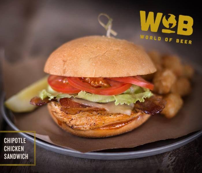 Tavern Menus Chipotle Chicken Chicken Sandwich Chicken Burgers