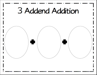 New Adventures in First Grade: 3 Addend Addition & Work
