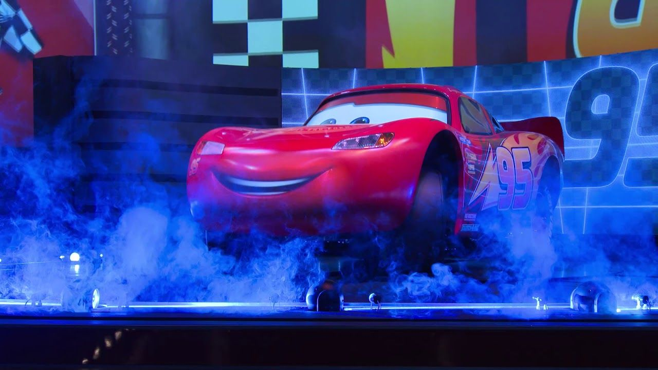The All New Lightning Mcqueen S Racing Academy Debuts March 31 At Disney Hollywood Studios Disney Disney Parks Blog Lightning Mcqueen