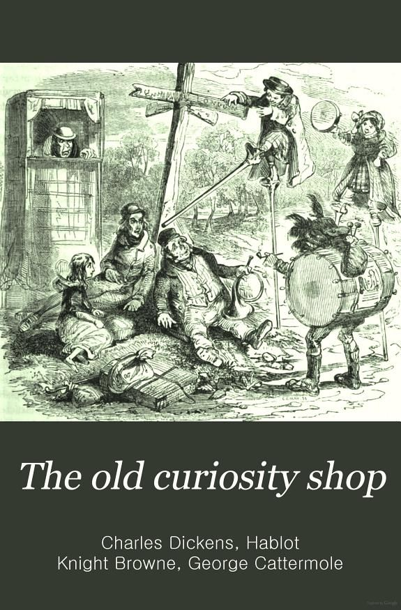 The Old Curiosity Shop -- Wolsey Hall Oxford tutor recommendation!