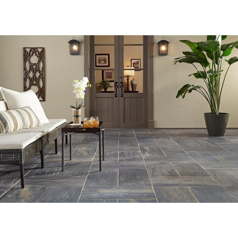 Floor And Decor Porcelain Tile Meridian Slate Gray Porcelain Tile  Porcelain Tile Slate And