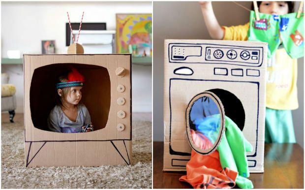 Elettrodomestici giochi di cartone lavatrice giocattolo for Elettrodomestici da regalare