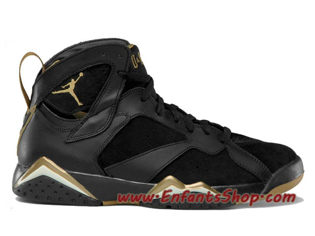 Air Jordan 7 Retro Chaussures Jordan Officiel Pas Cher Pour Homme Gold  Medal 304775-030
