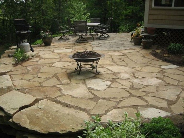 22 Best Stone Patio Design Ideas For Your Small Backyard Page