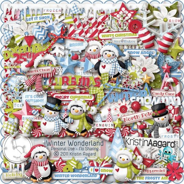 After Five Designs::Full Kits::Winter Wonderland, by Kristin Aagard