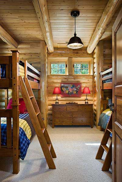 Hunter S Heaven Michigan Log Retreat Loghome Com Luxury Cottage Log Homes Cedar Homes