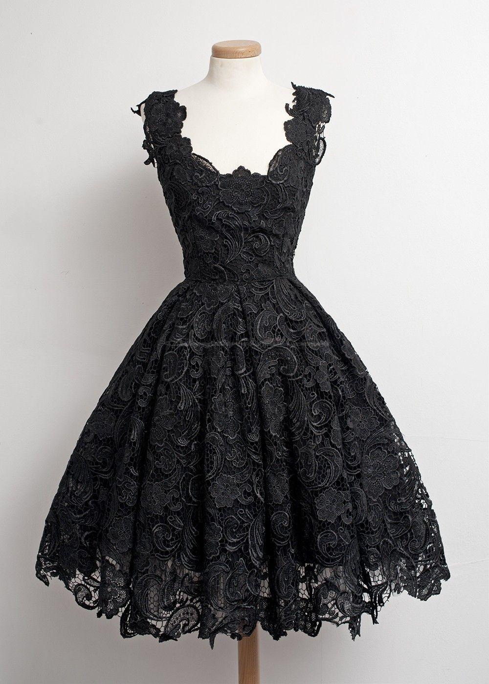 Robes vintage dentelle belles tenues simple dresses lace prom