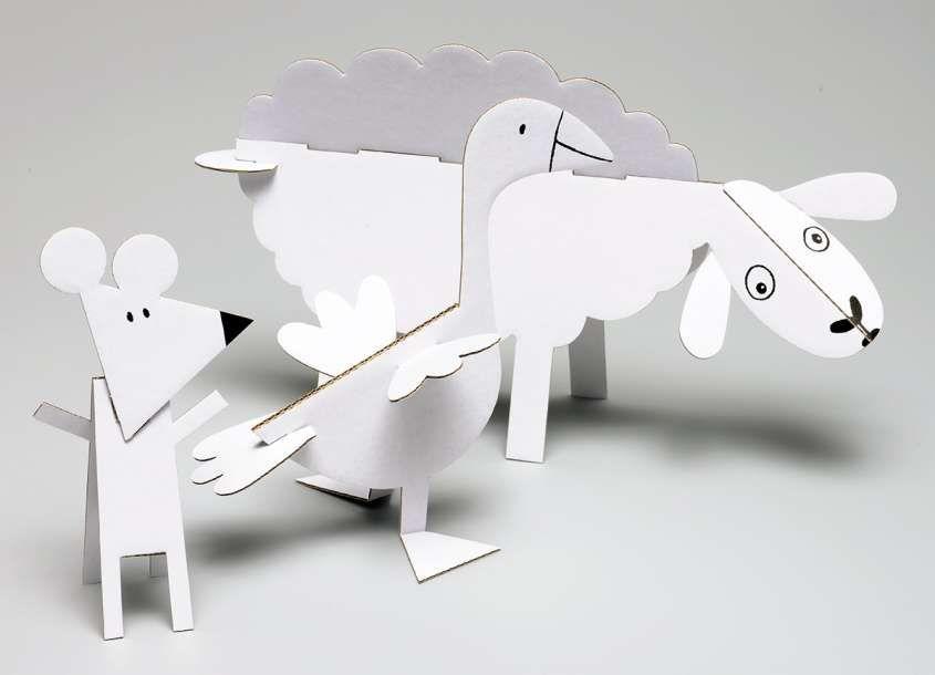 Animali Con Tubi Di Carta Igienica : Animali presepe con rotoli di carta igienica rotoli di carta