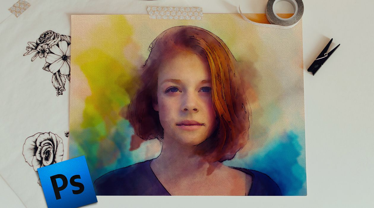 Awesome Watercolor Painting Effect In Photoshop