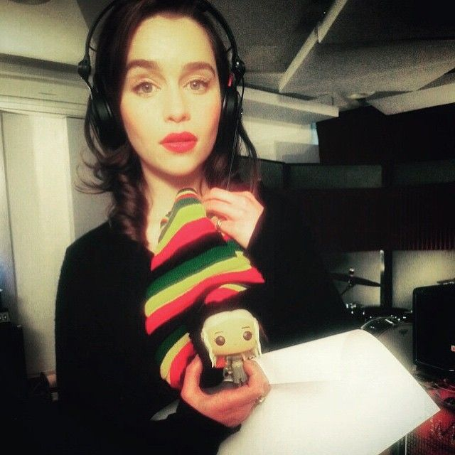 """Rasta reminiscing with my better half, Red Nose Day thank you for the music! #rednoseday2015 #coldplay #chrismartin you quite literally rocked my world."" - @emilia_clarke"