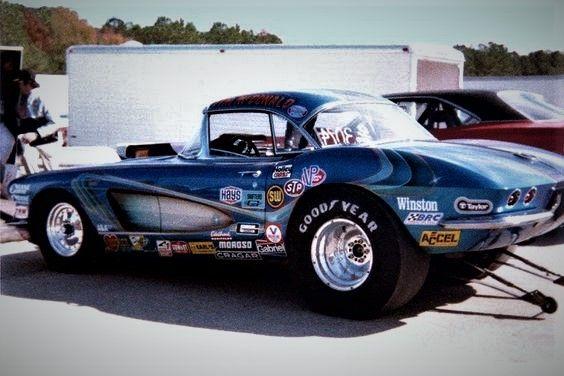 62 Corvette Gasser | Drag Cars , Street Rods and Muscle Cars