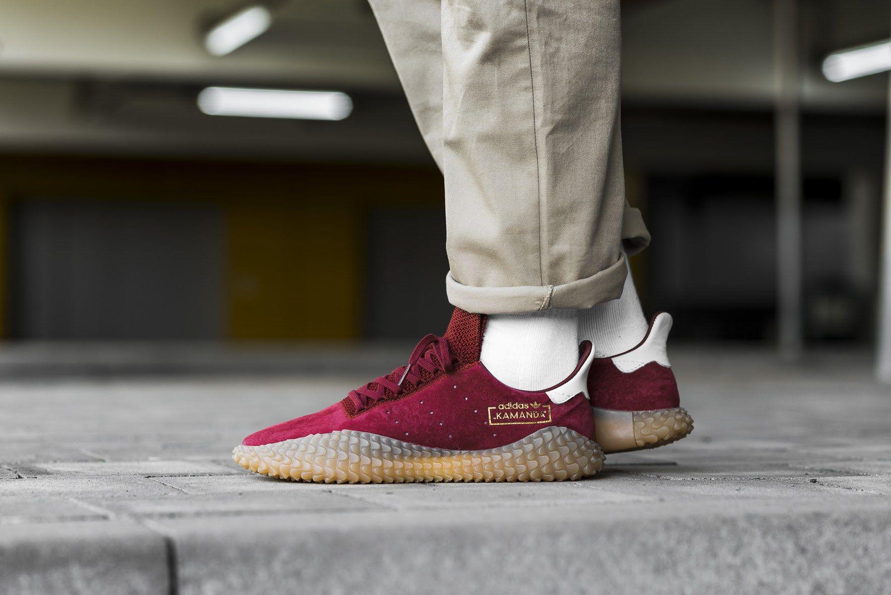 sports shoes 63d99 c39d5 adidas Kamanda On-Foot in Two Colorways - EU Kicks Sneaker Magazine