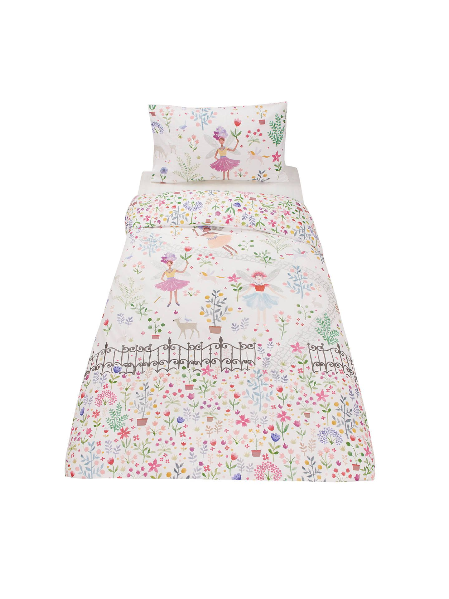 Little home at john lewis country fairies embellished duvet cover