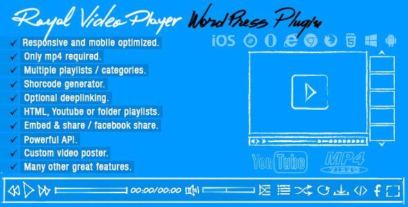 Royal Video Player Wordpress Plugin | Msn4Free.com