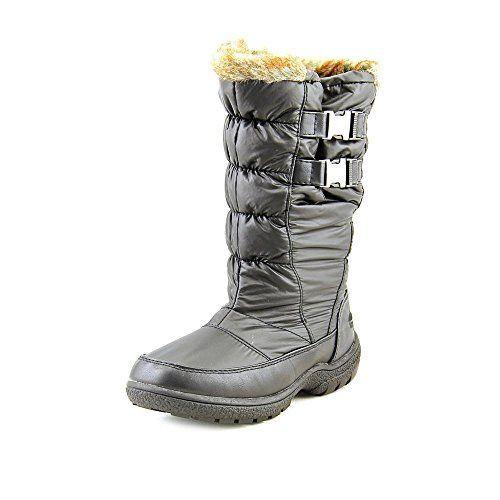 Totes Puffer Black Waterproof Rain Boots Shoes for Women 8 Medium ...