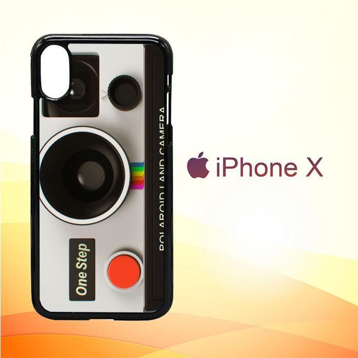 hot sale online beb7c b9b6a Vintage Polaroid Camera Z0076 iPhone X Case | Products | Vintage ...