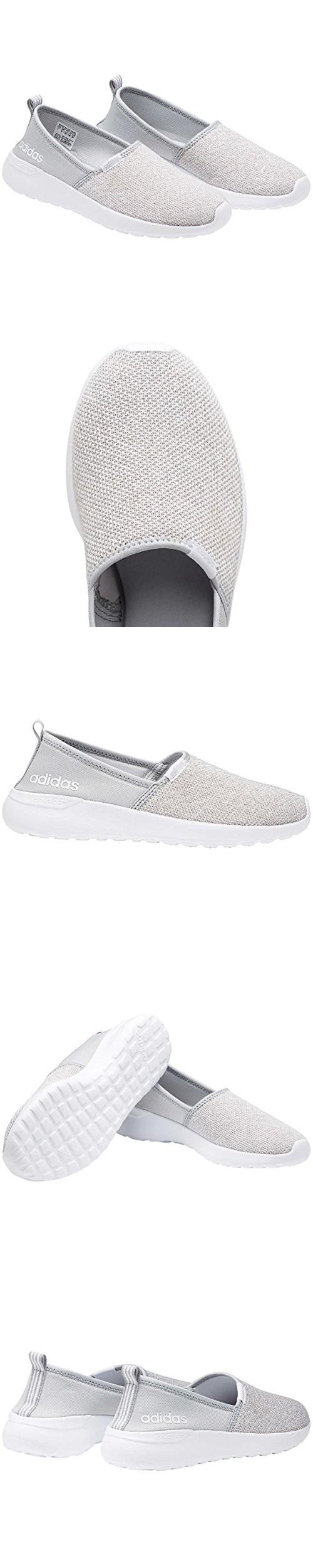 Adidas NEO Women's Lite Racer Slip On W Casual Sneaker (8.5