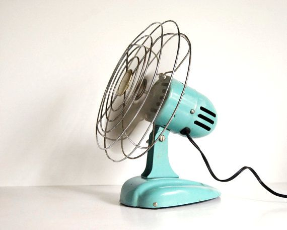 Vintage Fan Art Deco Eskimo 081002 Desk Fan or by CalloohCallay. This would  go nicely - Vintage Fan Art Deco Eskimo 081002 Desk Fan Or By CalloohCallay