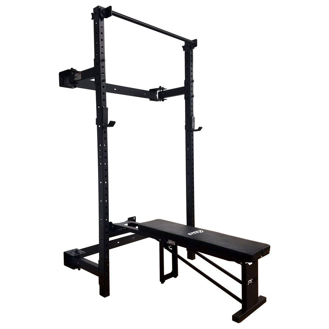 Start Prx Murphy Squat Rack With Pull Up Bar Byo Package Pull Up Bar Squat Rack Gym Room At Home