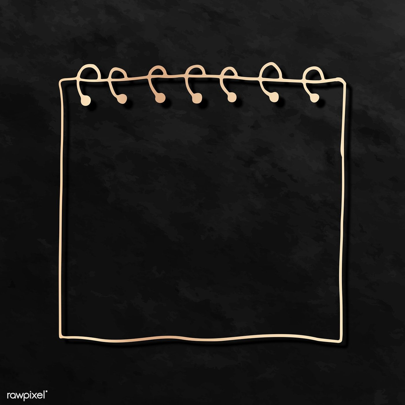 Download Premium Illustration Of Blank Reminder Paper Note Mockup 2100734 In 2020 Note Paper Doodle Frame Instagram Frame Template