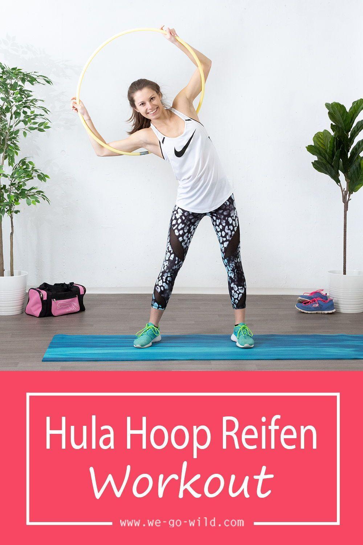 Das Hula Hoop Reifen Workout macht nicht nur Spaß, sondern tut auch deinem Körper gut. Warum die Hul...