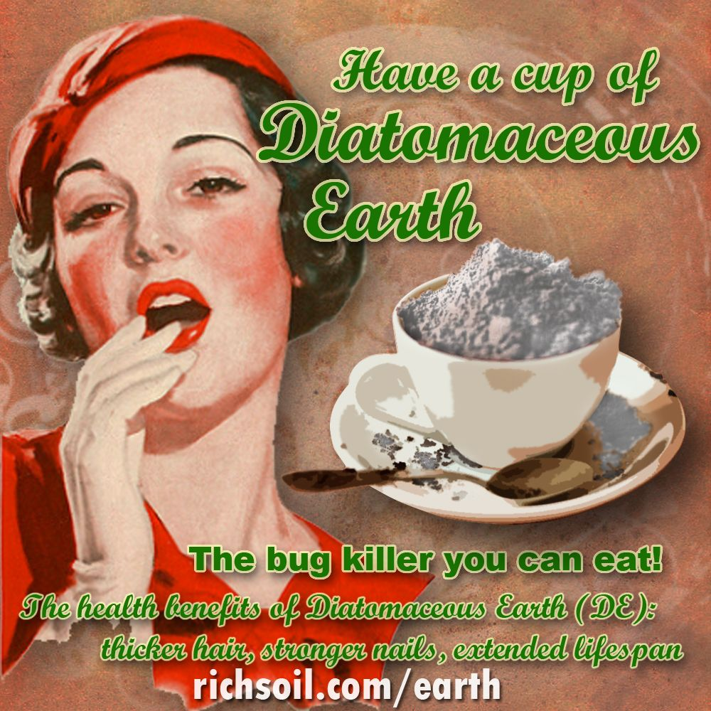 Food Grade Diatomaceous Earth is awesome & has amazing
